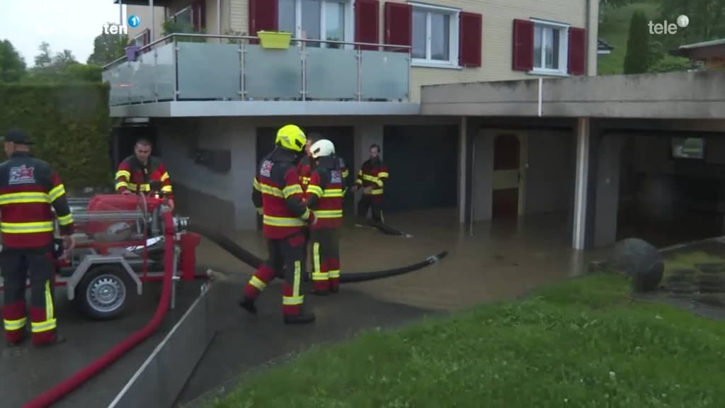 Überschwemmungen in der Region