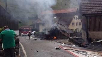 Kopie von Flugtage Dittingen 2015: Zwei Flugzeuge abgestürzt