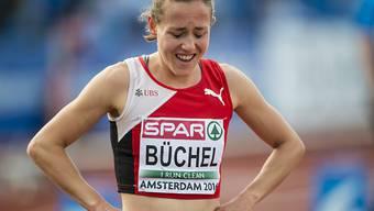 Selina Buechel steht ausgepumpt und mit leerer Händen da