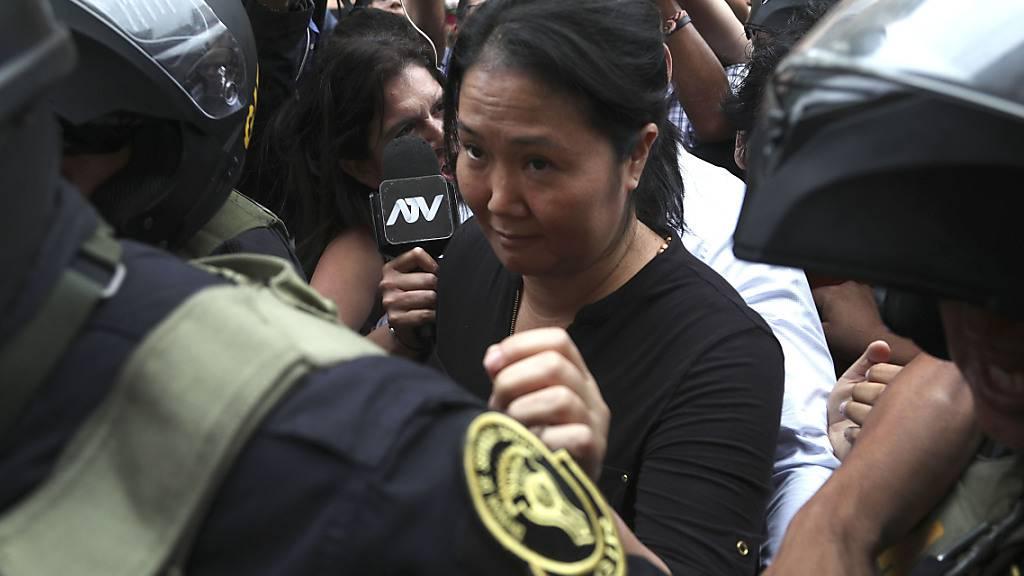 Justiz ordnet erneute Inhaftierung von Perus Oppositionschefin an
