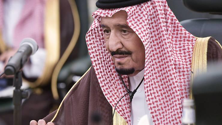 Der umstrittene saudische König Salman wird am kommenden Montag Bundespräsident Ueli Maurer empfangen. (Archivbild)
