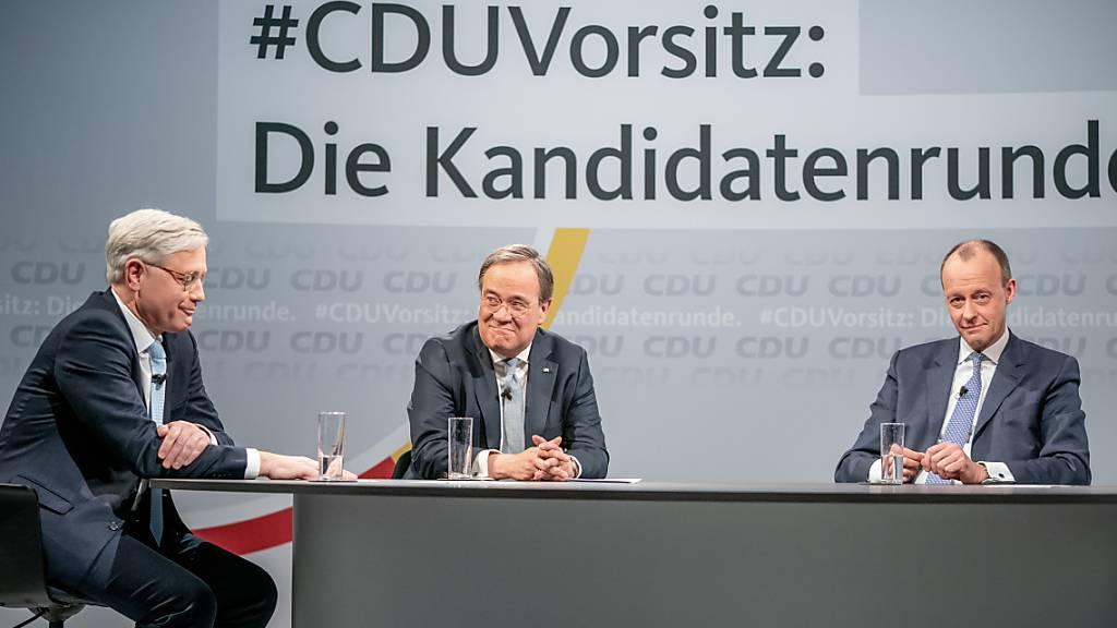 CDU wählt neuen Parteichef - wird er auch Bundeskanzler?