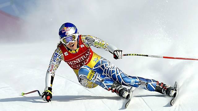 Lindsey Vonn rückt im Gesamt-Weltcup näher zu Maria Riesch