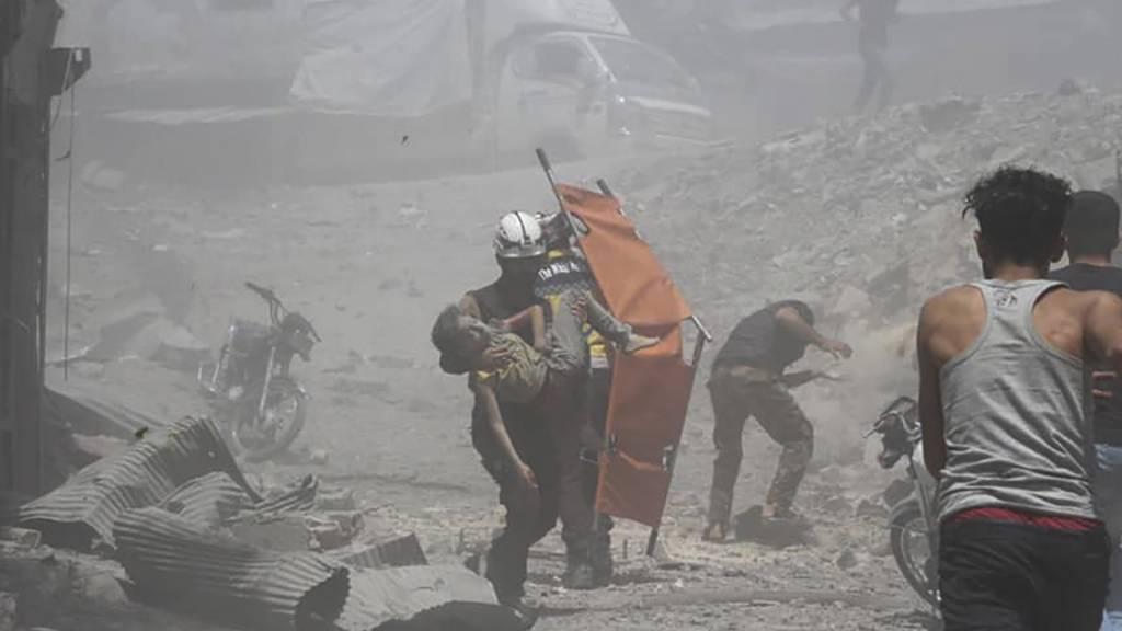 70 Tote bei Gefechten in Idlib