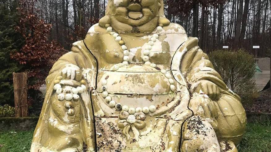 Vor über einem Jahr wurde eine Buddha-Statue in einem Park in Winterthur abgestellt. Die Stapo hat den Buddha nun verschenkt.