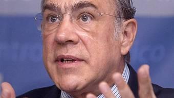 OECD-Gereralsekretär Gurria (Archiv)