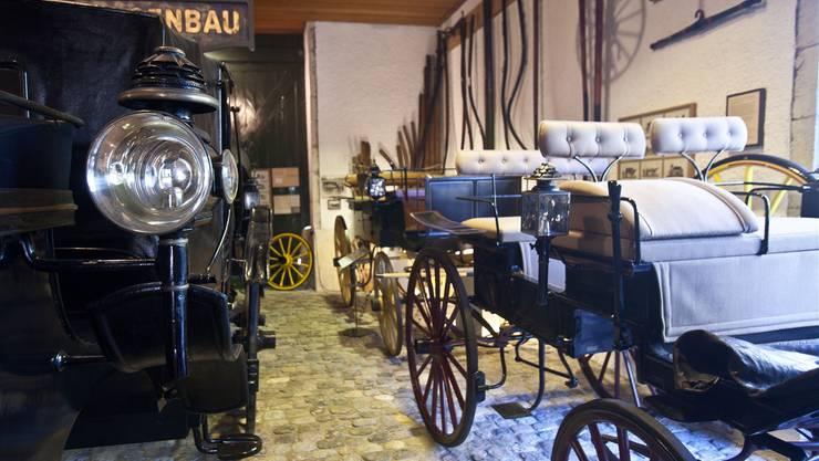 Das ehemalige Kutschenmuseum heisst neu Museum für Pferdestärken. Die Bezeichnung soll die Besucher neugierig machen.ZVG/HMB Philipp Emme