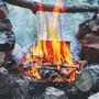Im Branchenjargon heisst das «Erlebnisgastronomie». Bloss kostet ein selbst entfachtes Feuer nicht extra.