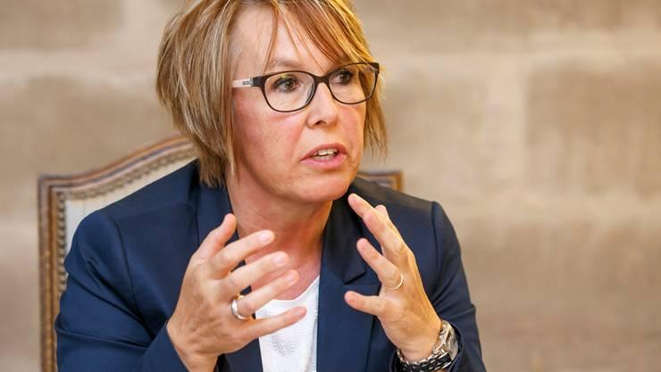 Nathalie Barthoulot, SP-Regierungsrätin aus dem Jura, präsidiert neu die Konferenz der kantonalen Sozialdirektorinnen- und Direktoren (SODK).