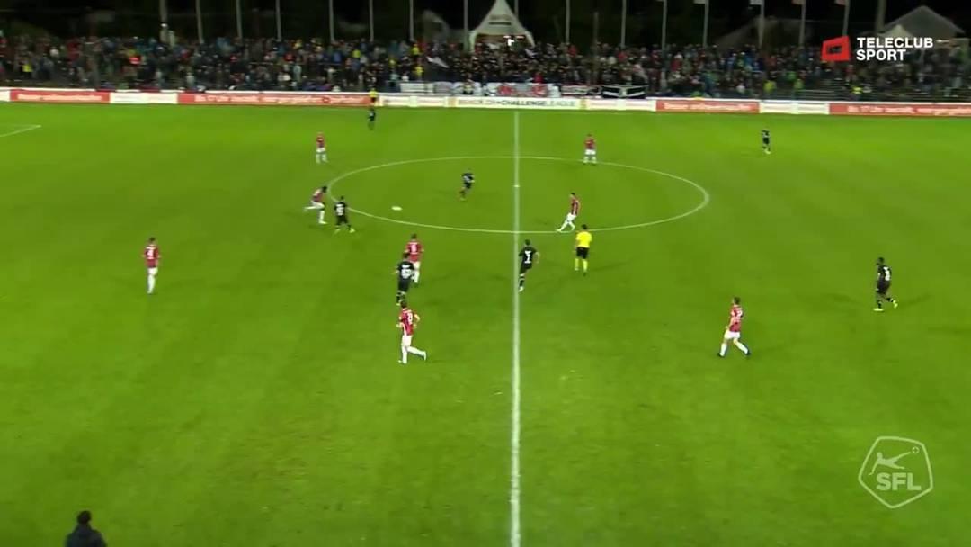 Challenge League: FC Aarau - FC Stade Lausanne-Ouchy, 90.+1