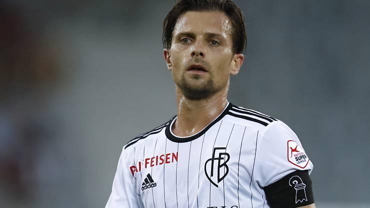 Nicht in Gefahr, den Europa-League-Viertelfinal wegen einer Gelbsperre zu verpassen: FCB-Captain Valentin Stocker