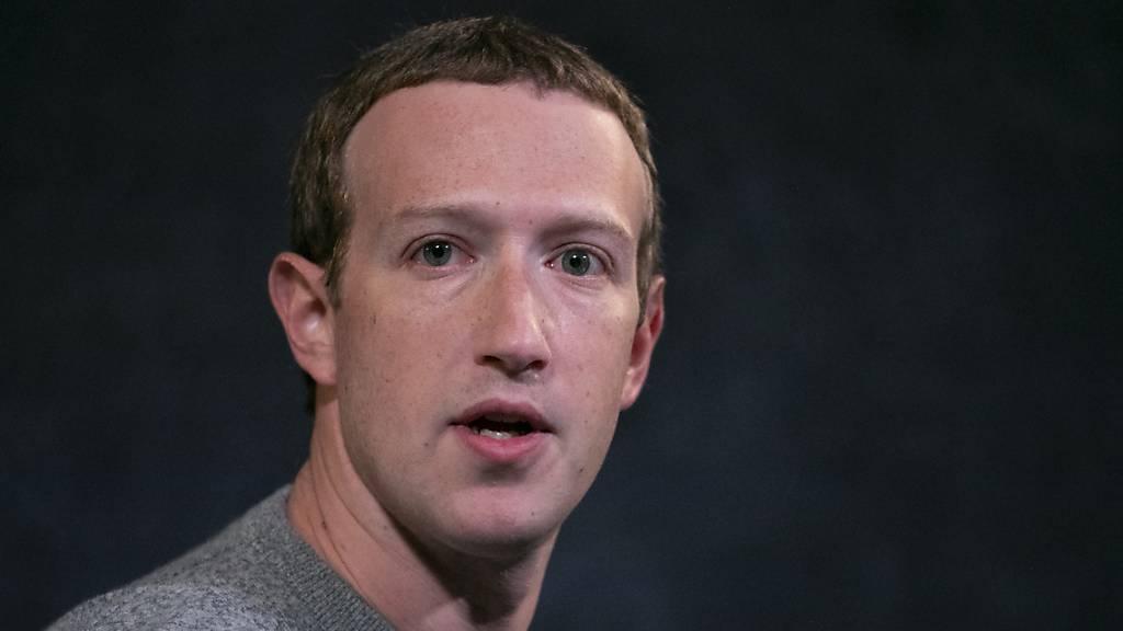 Zuckerberg verteidigt Umgang mit Trump-Äusserungen