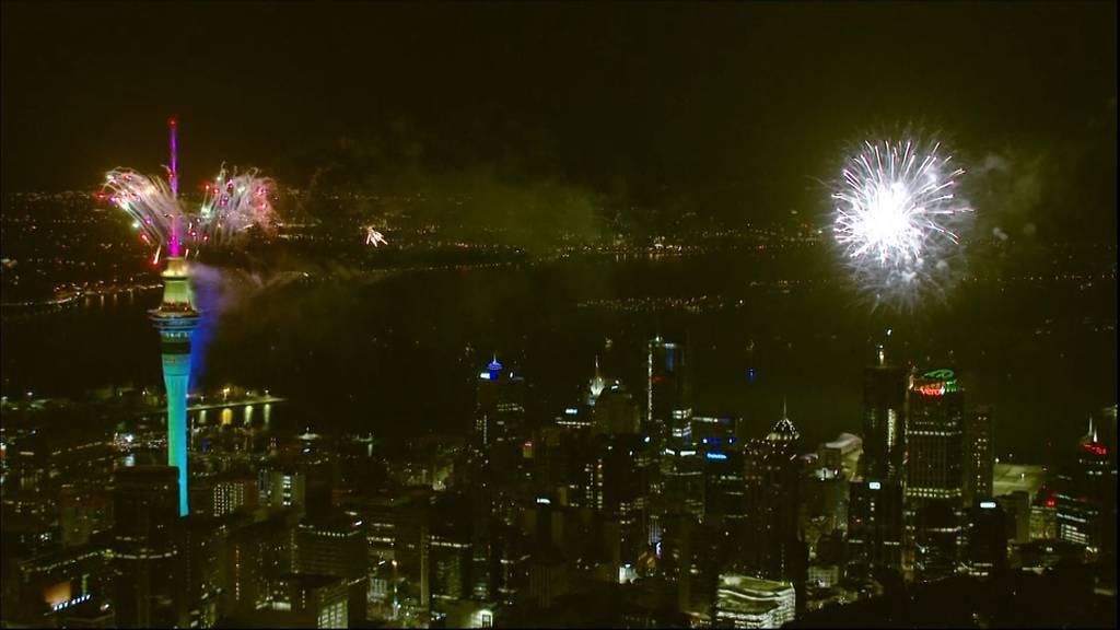 So feierte die Welt das neue Jahr