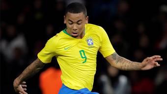 Gabriel Jesus schoss gegen Deutschland das entscheidende 1:0