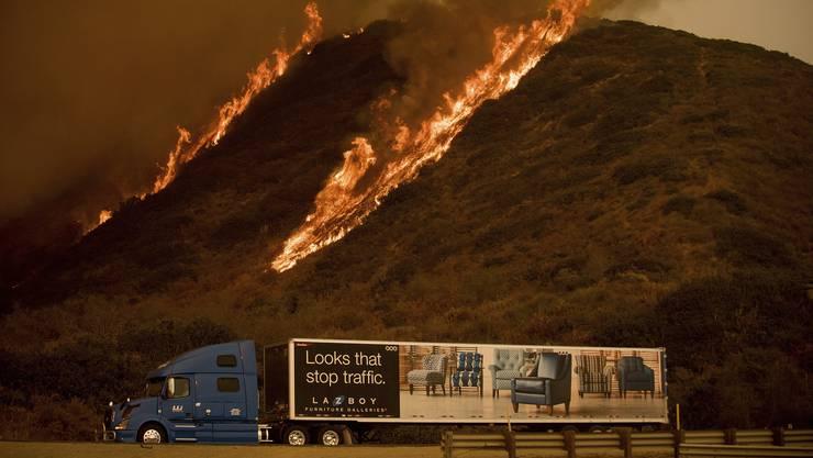 Im Dezember 2017 wüteten schwere Waldbrände in Südkalifornien.