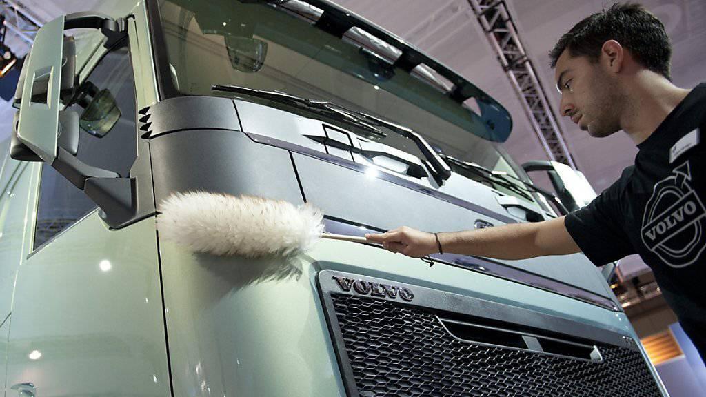 Volvo erreicht aufgrund der hohen Nachfrage Ergebnisverbesserung. (Archiv)