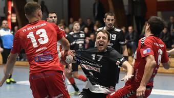 Der TV Solothurn hat gegen Steffisburg gute Chancen auf den Sieg.