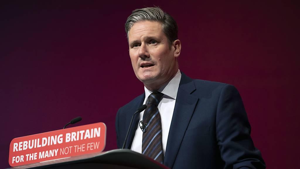 Keir Starmer wird neuer Chef der britischen Labour-Partei