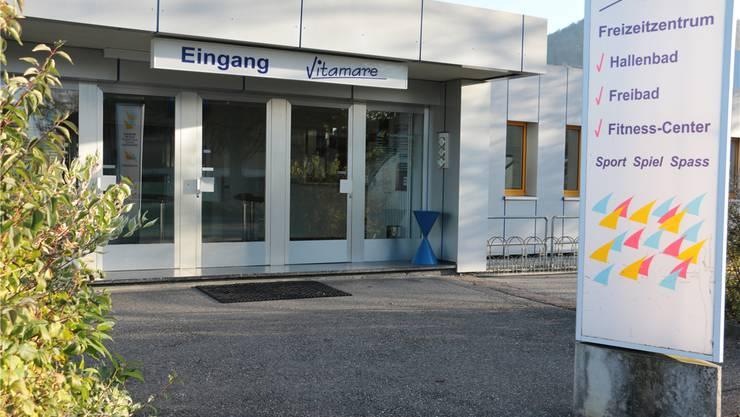 Unter anderem soll der Eingangsbereich des Vitamare Freizeitzentrums erneuert werden.