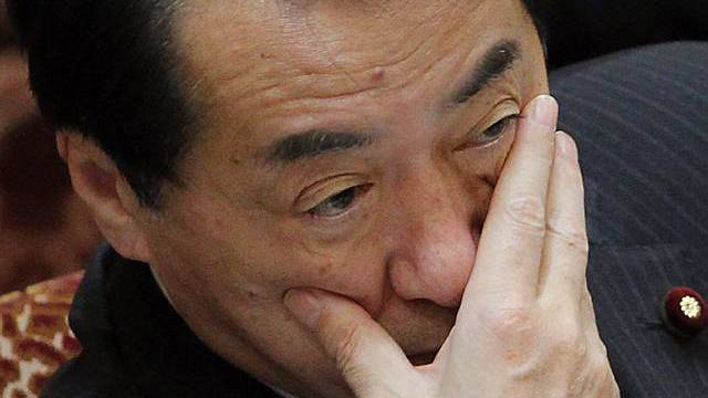 Der japanische Premierminister Naoto Kan (Archivbild)