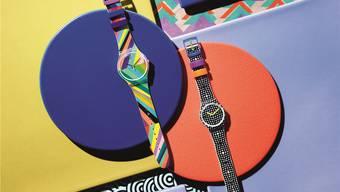 Die Flaute in China trifft auch Uhrenhersteller: Aktuelle Swatch-Kollektion. Swatch/ho