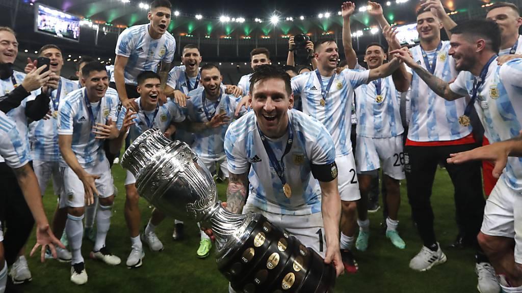 Argentinien hat Brasilien im Final der Copa América mit 1:0 besiegt.