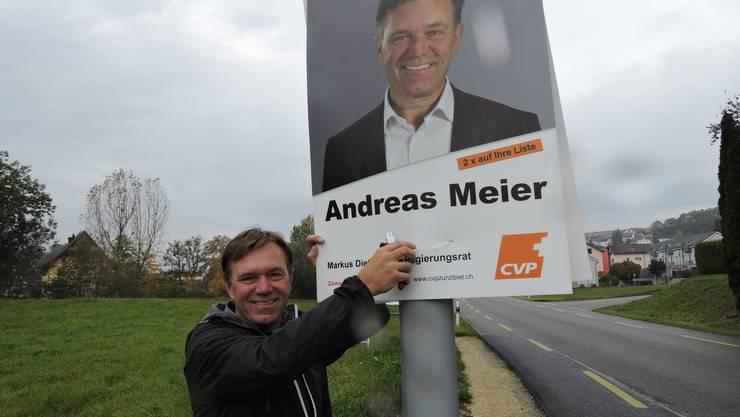 Neu-Grossrat Andreas Meier