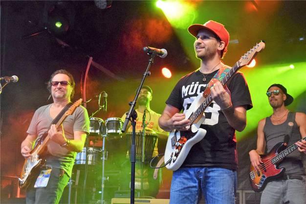 Robbie Caruso (links) und Mauro «Morò» Corchia lieben den Reggae. Bild: mhu