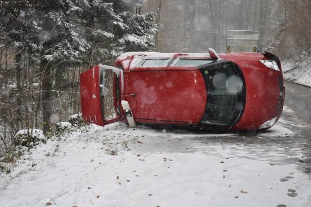 Unfall in Schnottwil