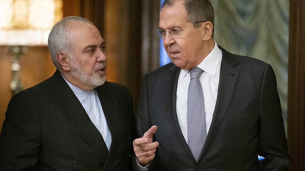 Russlands Aussenminister Lawrow zu Gesprächen in Teheran