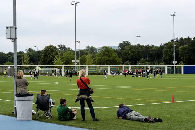 Das CS-Fussballturnier lockte fussballbegeisterte Jugendliche aus der ganzen Schweiz und dem Ausland an.