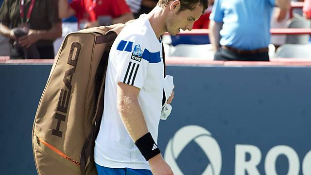 Enttäuschter Abgang: Andy Murray in Montreal ausgeschieden.