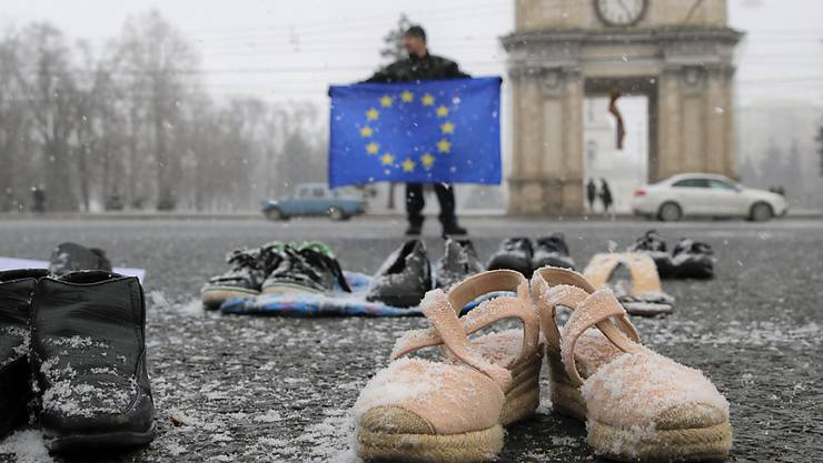 In Moldawien wird am heutigen Sonntag ein neues Parlament gewählt - die ehemalige Sowjetrepublik ist zwischen EU- und Russland-Anhängern hin- und hergerissen.
