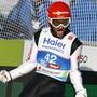 Wieder deutscher Jubel auf der Bergisel-Schanze in Innsbruck: Nach dem Einzelwettkampf gewann Markus Eisenbichler auch mit dem deutschen Team WM-Gold