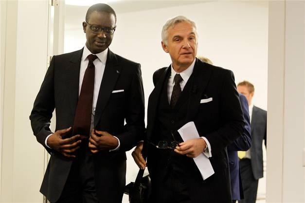 2015 holte Rohner den ivorisch-französischen Manager Tidjane Thiam als CEO an Bord.