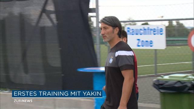 Yakin gibt erstes Training
