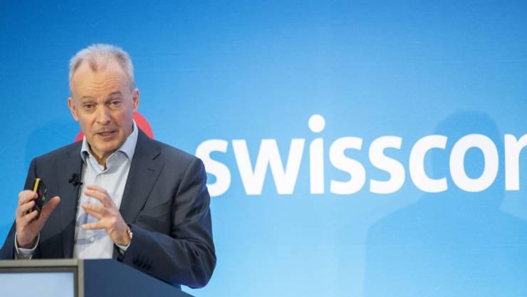 Schlechte Nachrichten für Swisscom-CEO Urs Schaeppi: Sein Konzern hat einen Prozess verloren (Archivbild).