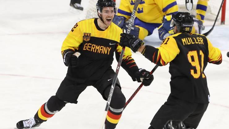 Deutschland besiegt auch Schweden und ist nun auf Medaillenkurs