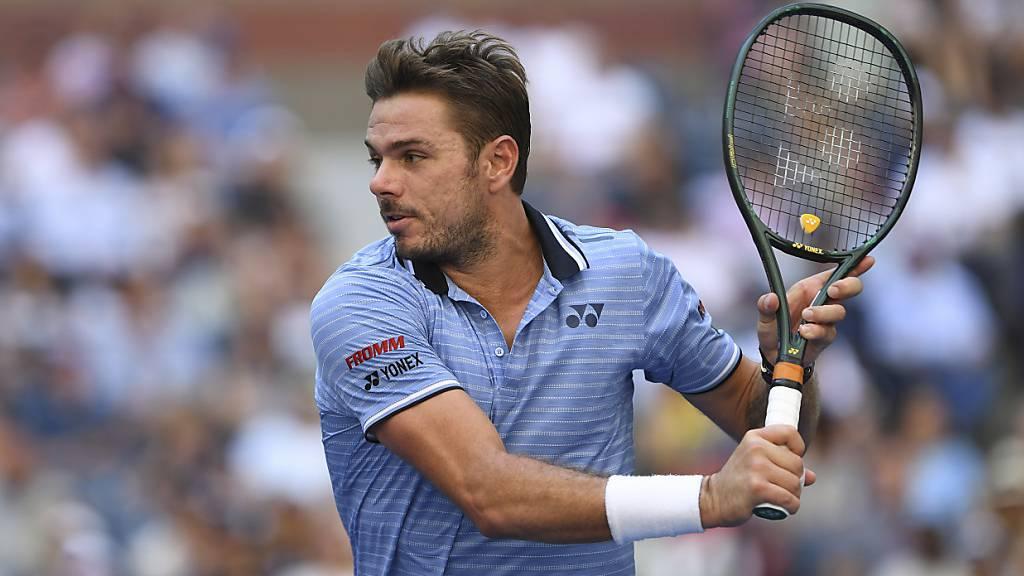 Wawrinka in Antwerpen im Final - jetzt gegen Murray