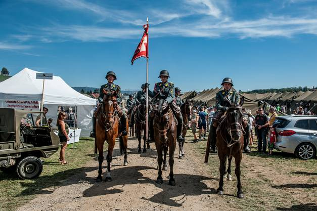 Das Kavallerieschwadron 1972 sorgte beim Publikum für Begeisterung.