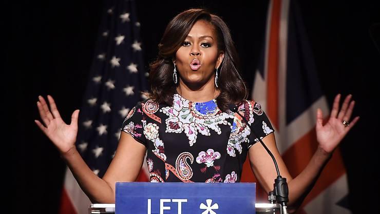 """Michelle Obama berichtet in ihrem Buch über die Zeit in Washington: """"Es gab Tage, Wochen und Monate, da hasste ich die Politik regelrecht."""""""