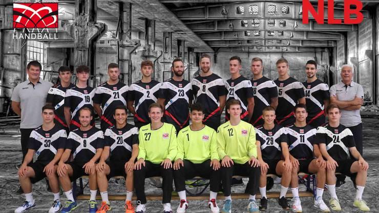 Siegreich geblieben: Die NLB-Handballer vom TV Birsfelden.