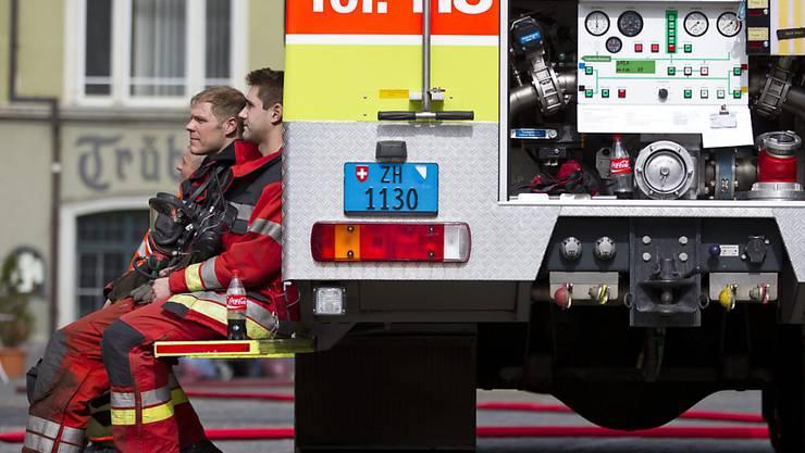 Beim Küchenbrand im Winterthurer Mehrfamilienhaus am Montagabend wurde niemand verletzt. (Symbolbild)