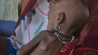 Die Spendengelder dienen dazu, die Versorgung der leidenden Menschen mit Nahrungsmitteln und Wasser zu verbessern und die medizinische Versorgung, insbesondere von Kleinkindern, sicherzustellen. (archiv)