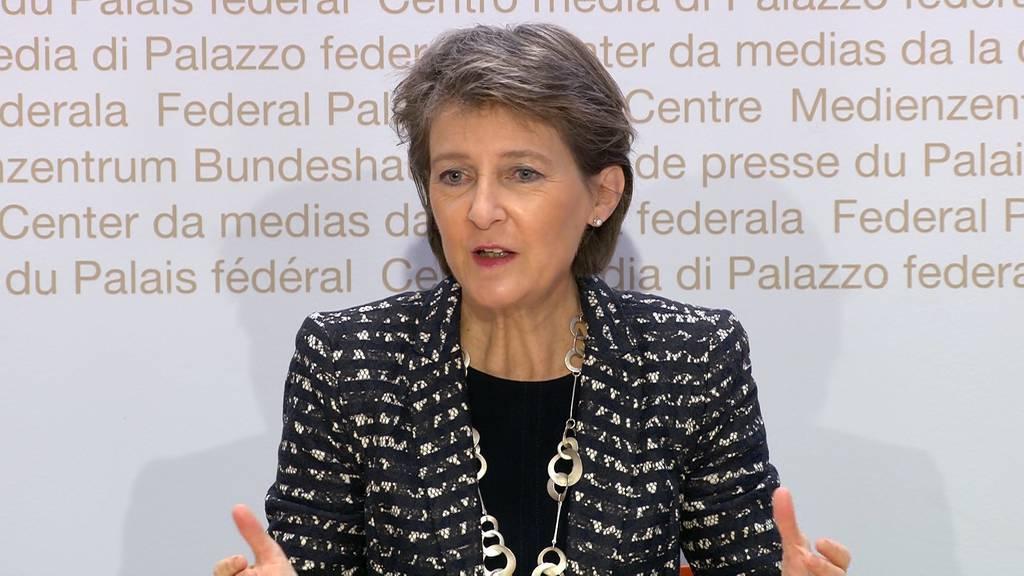 Komplette Pressekonferenz: Bundesrat informiert über die neusten Corona-Massnahmen