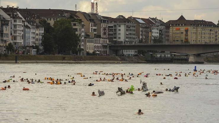 Das Basler Rheinschwimmen 2019 vom 20. August ist abgesagt worden.