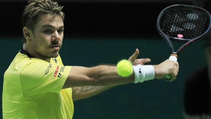Stan Wawrinka bezwingt Kei Nishikori mit 6:2, 4:6, 6:4 und steht erstmals seit 2017 wieder im Final eines ATP-Turniers.