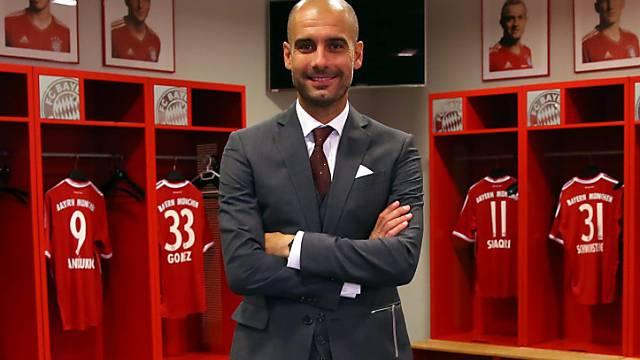 Soll die Bayern zum Titel führen: Pep Guardiola