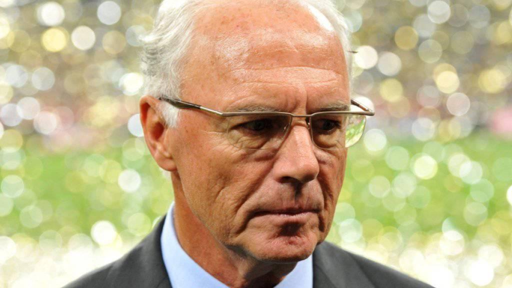 Franz Beckenbauer musste einige Stunden Fragen beantworten