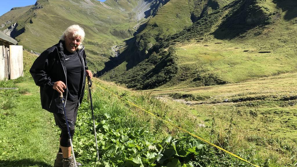 «Vergiesse keine Träne»: Ein Original verlässt die Alp nach 50 Jahren